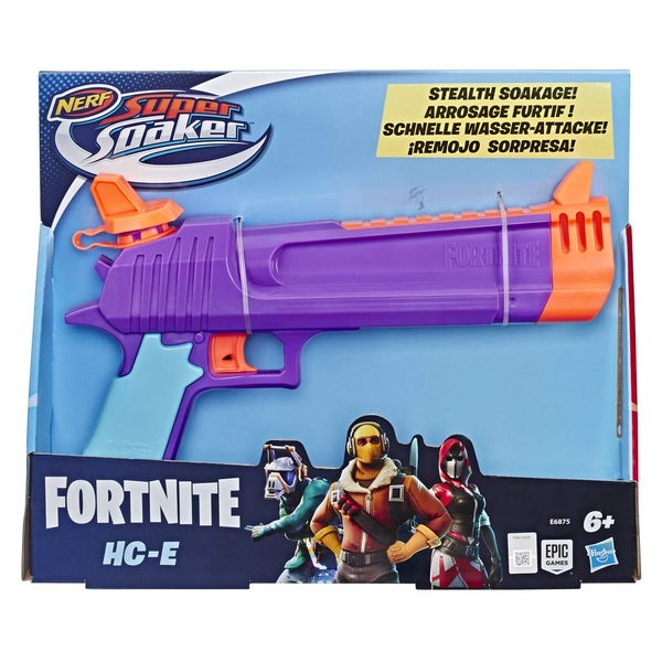 Nerf Super Soaker Fortnite HC-E Toy Water Blaster - Image 1