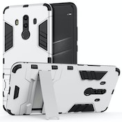 Huawei Mate 10 Pro Armour Combo Stand Case - Steel Silver