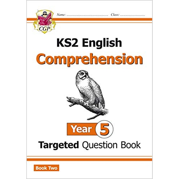 New KS2 English Targeted Question Book: Year 5 Comprehension - Book 2 by CGP Books (Paperback, 2016)