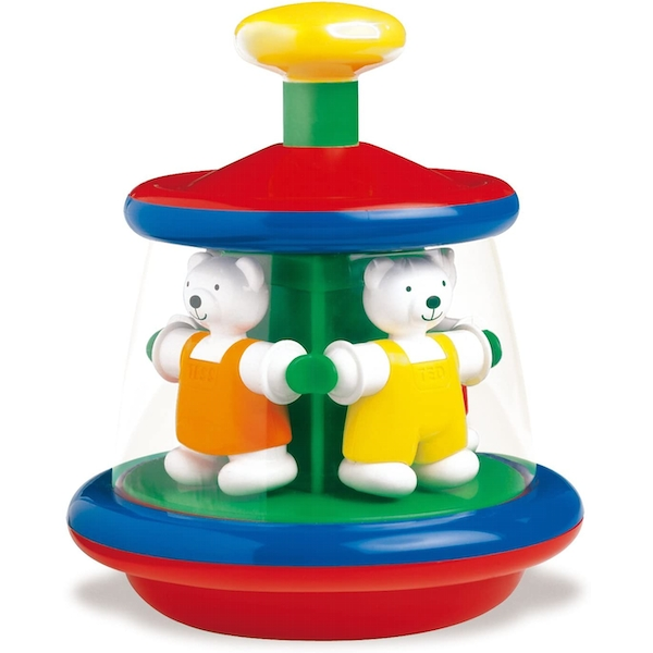 Ted & Tess Carousel Spinning Toy