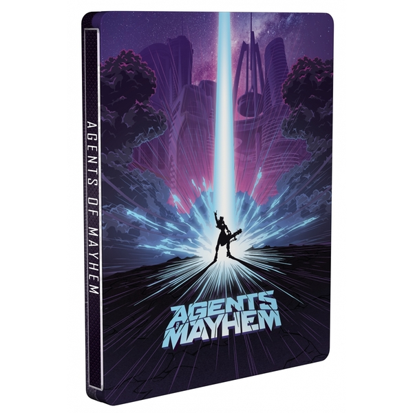 Agents Of Mayhem Day One Steelbook Edition PS4 Game - Image 8