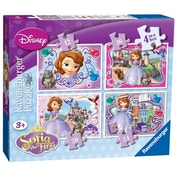 Disney Sofia The First 4 in a Box Jigsaw Puzzles