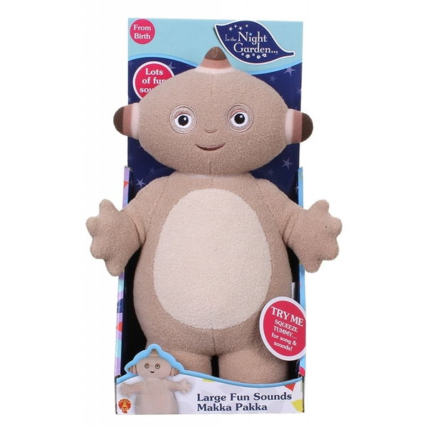 In the Night Garden Large Makka Pakka Fun Sounds Toy