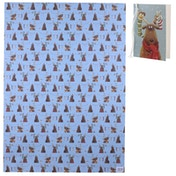 Jan Pashley Xmas Reindeer Wrapping Paper 50 x 70cm