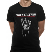 Biffy Clyro - Mon The Biff Men's Small T-Shirt - Black