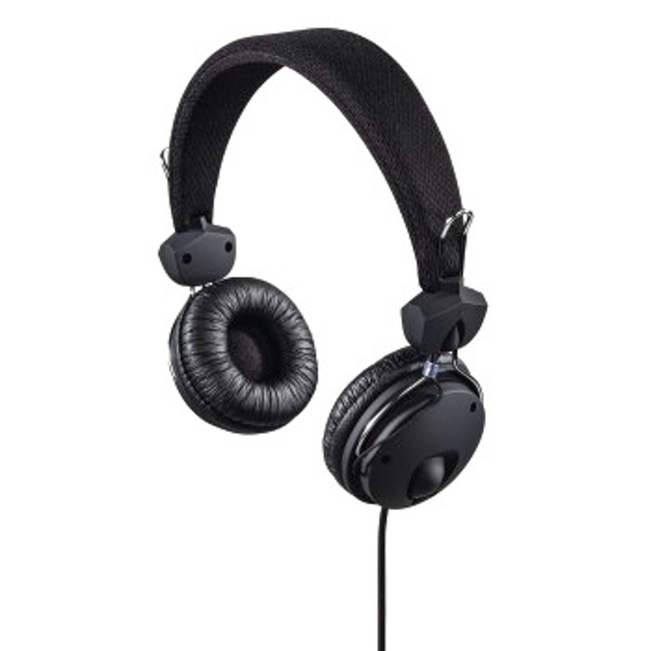 Hama - Fun4Phone On-Ear Stereo Headset, black - Black - Textile (1 ACCESSORES)