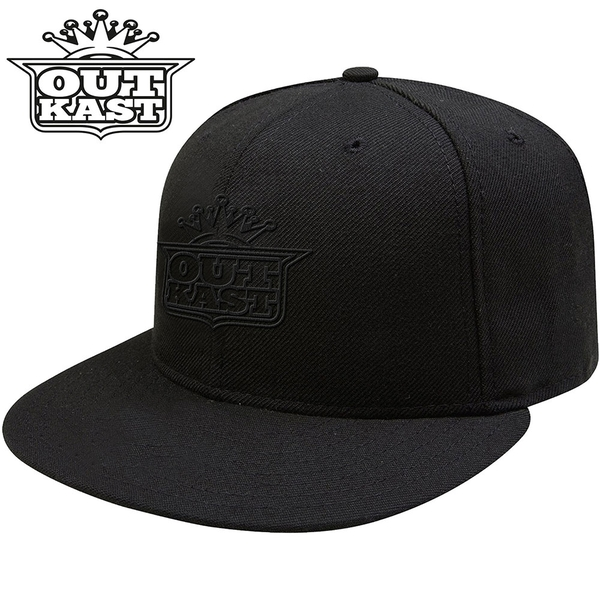 Outkast - Black Imperial Crown Unisex Snapback Cap - Black