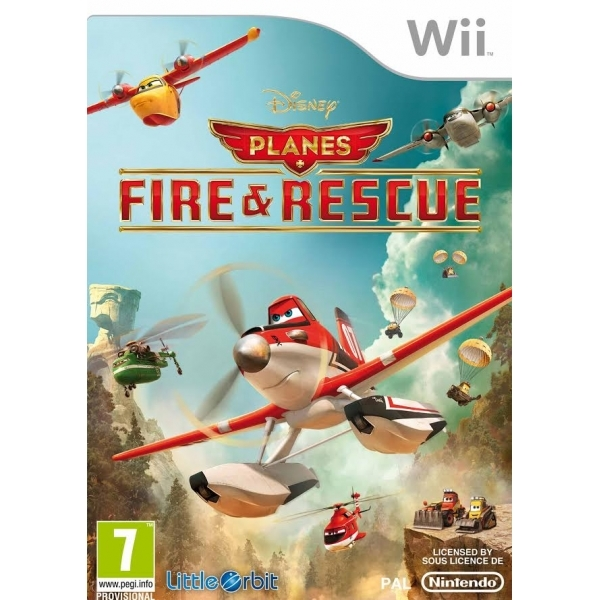 Disney Planes Fire and Rescue Wii Game