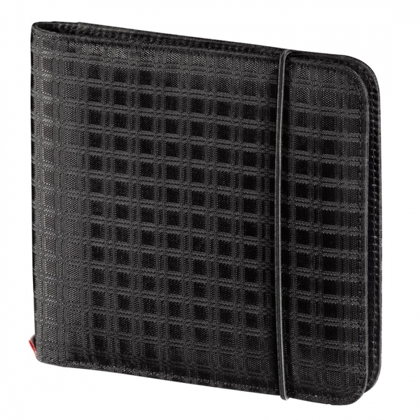 Hama Ready for Business CD/DVD/Blu-ray Wallet 24 Black