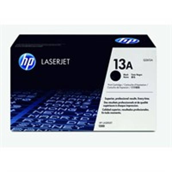 HP Q2613A (13A) Toner black, 2.5K pages @ 5% coverage