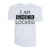 Sherlock - I am Sherlocked Men's Small T-Shirt - White