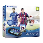 PS Vita Console Slim System (UK Plug) with Fifa 15