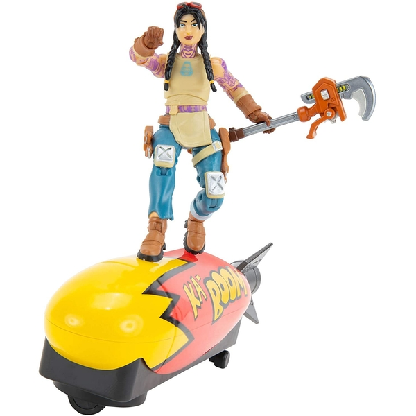 Bombs Away Glider With Jules (Fortnite) Figure