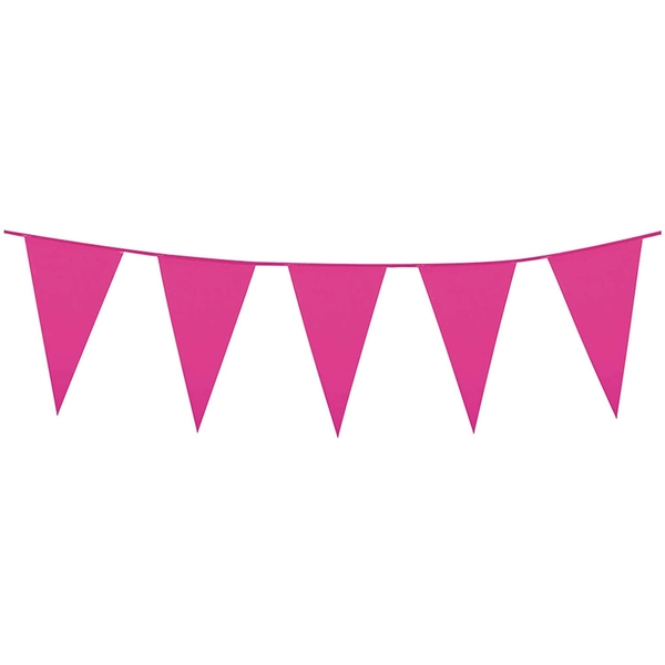 Bunting Banner Pink