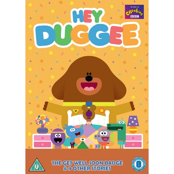 Hey Duggee - The Get Well Soon Badge & Other Stories DVD