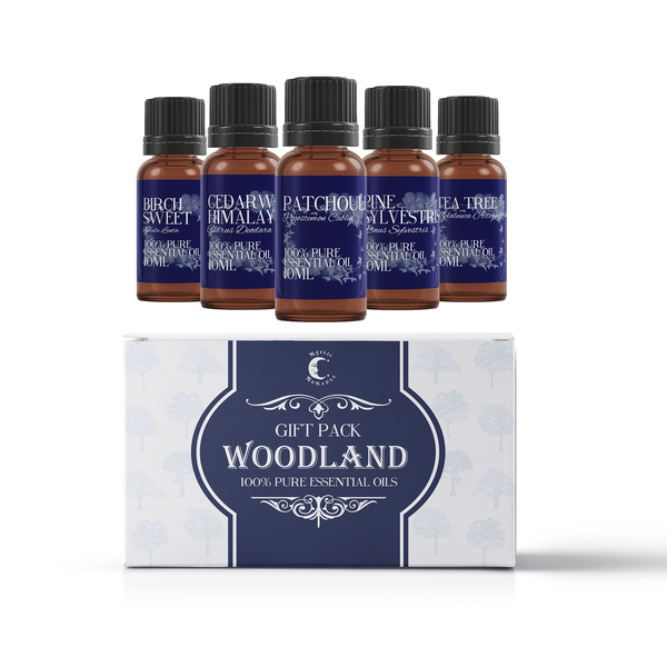 Mystic Moments Woodland Essential Oils Gift Starter Pack