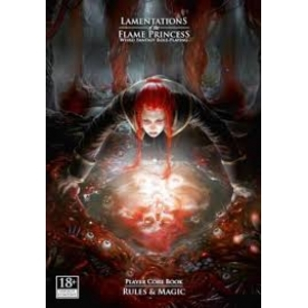Lamentations of the Flame Princess Board Game