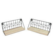 Rustic Floating Shelves - Set of 2 | M&W