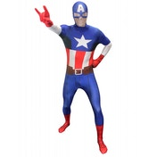 Marvel Morphsuit Captain America Large