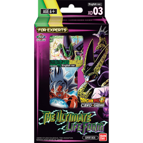 Dragon Ball Super CG XD03 The Ultimate Life Form Trading Card Expert Deck