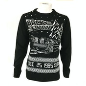 Back to the Future Unisex Christmas Jumper XX-Large