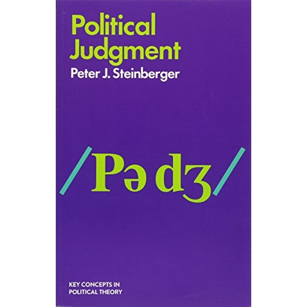 Political Judgment An Introduction Paperback / softback 2018