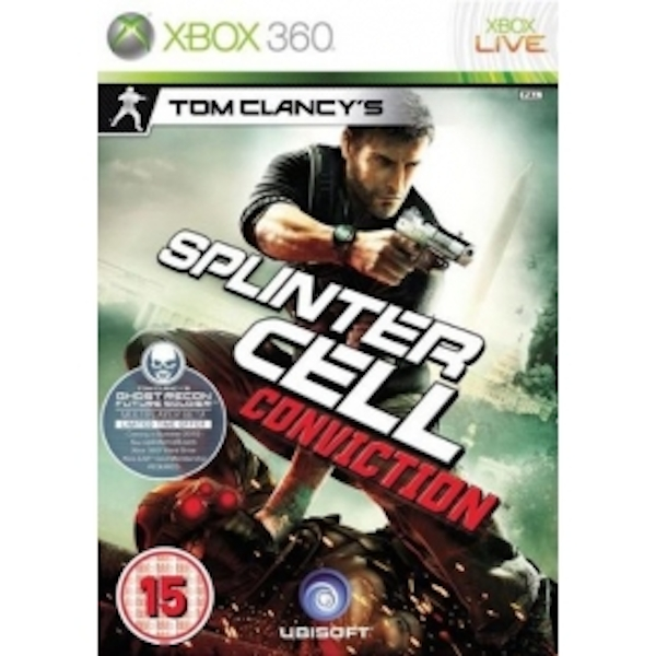 Tom Clancys Splinter Cell Conviction Game Xbox 360