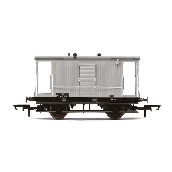Hornby BR Dia.034 'Toad B' Brake Van E140580 Era 4 Model Train