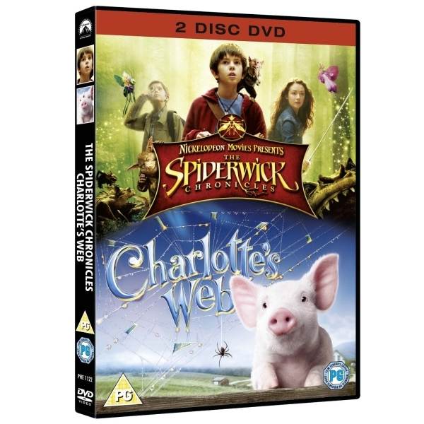 Spiderwick Chronicles / Charlotte's Web  DVD