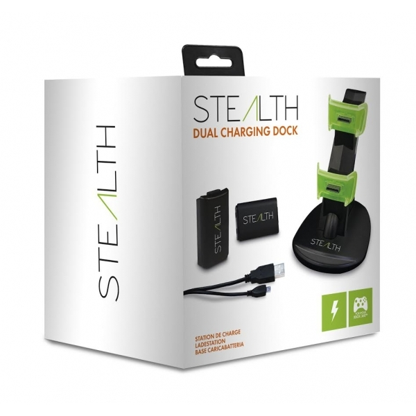 Stealth SX701 Dual Charging Dock for Xbox 360 UK Plug