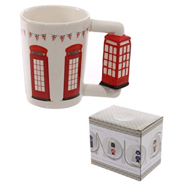 Telephone Shaped Handle Telephone Box Mug