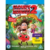 Cloudy With A Chance of Meatballs 2 Blu-ray & UV Copy