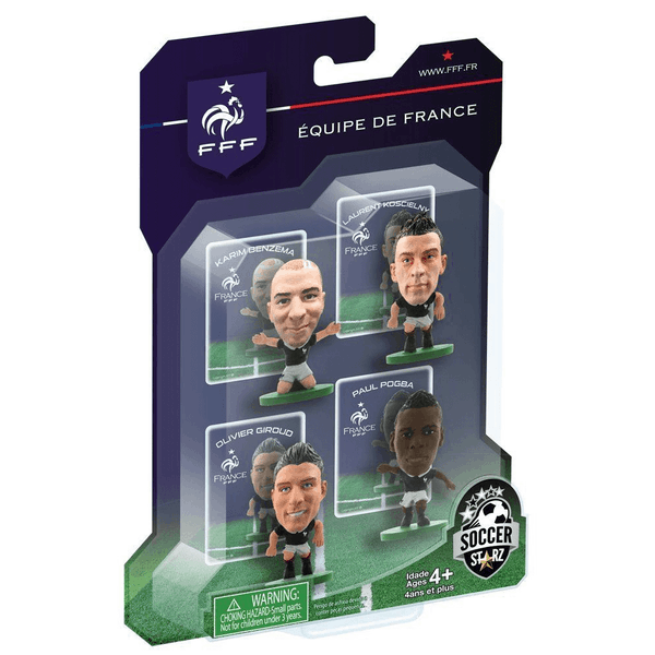 SoccerStarz France 4 Player Blister Pack C Figures