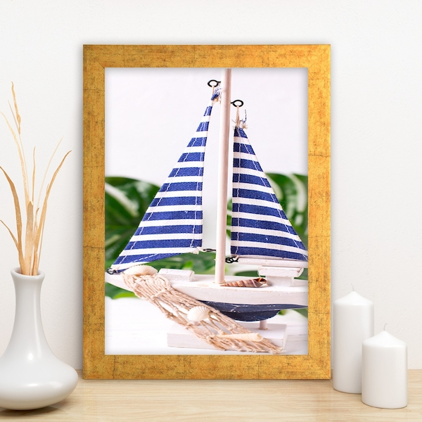 AC11143609826 Multicolor Decorative Framed MDF Painting