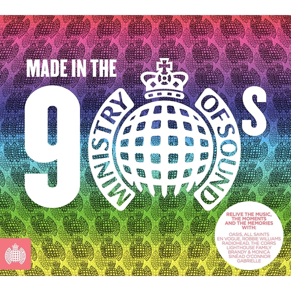 Ministry of Sound Made In The 90s CD