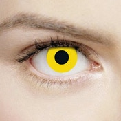Yellow 1 Day Halloween Coloured Contact Lenses (MesmerEyez XtremeEyez)
