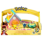 Pokemon - Garden Adventures - Pikachu and Vapoeon Mini Figure Playset