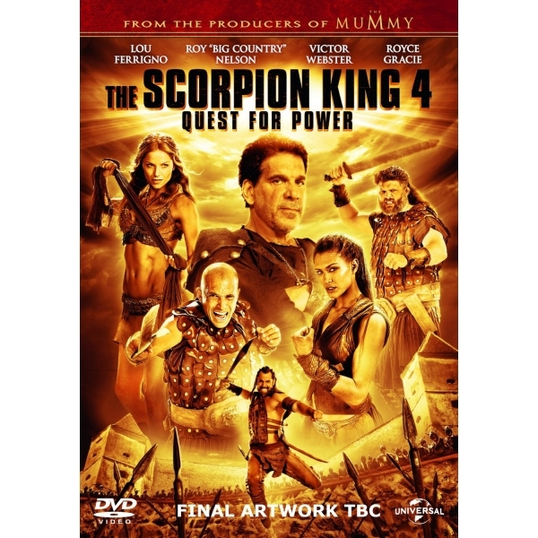 The Scorpion King 4: Quest for Power DVD