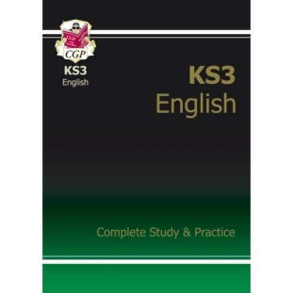 KS3 English Complete Study and Practice (With Online Edition) by CGP Books (Paperback, 2008)