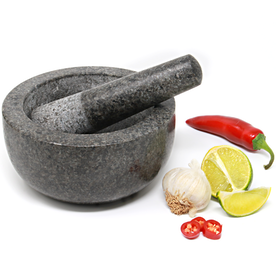 Large Granite Pestle and Mortar Set - 16cm Diameter | M&W