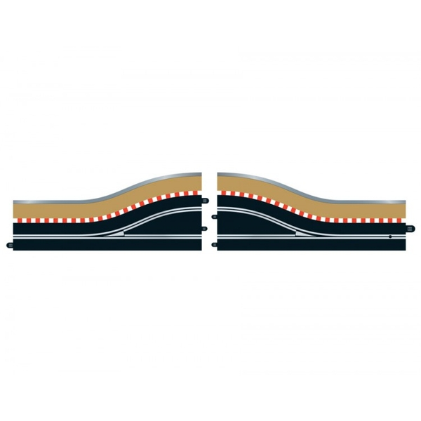 Scalextric Pit Lane Track Right Hand Includes Sensor