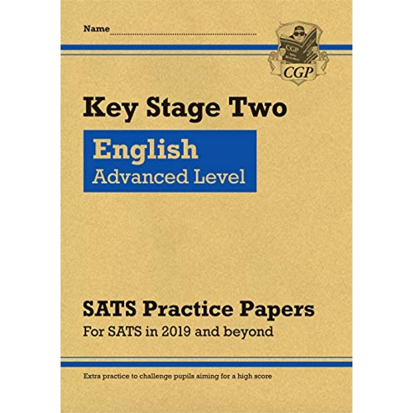 New KS2 English Targeted SATS Practice Papers: Advanced Level (for the 2021 tests)  Paperback / softback 2018