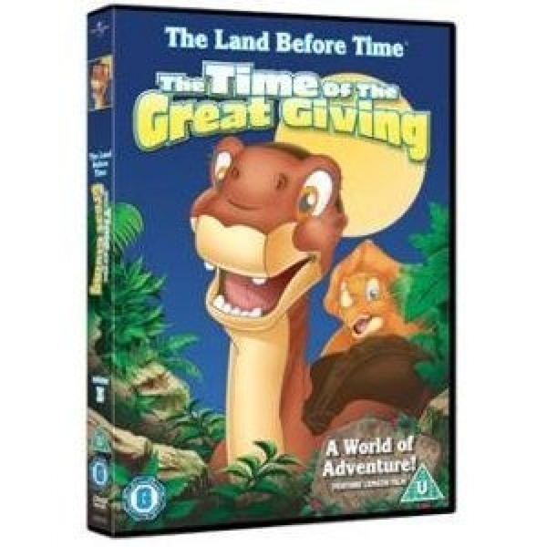 Land Before Time - The Time Of The Great Giving DVD