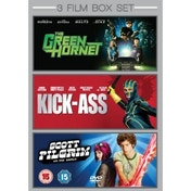 Green Hornet / Kick-Ass / Scott Pilgrim Vs. The World DVD