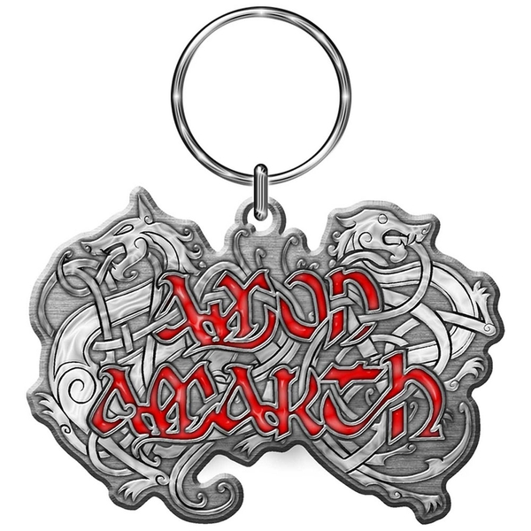 Amon Amarth - Dragon Logo Metal Keychain