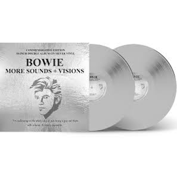 Bowie – More Sounds & Visions (The Legendary Broadcasts) Limited Edition Silver Vinyl
