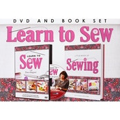Learn To Sew DVD & Book Set