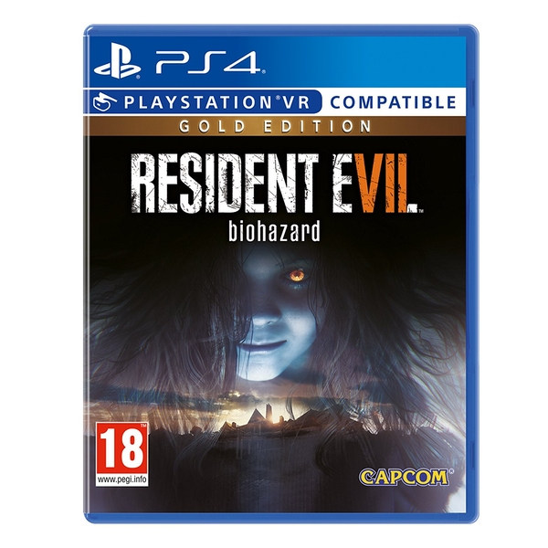 Resident Evil 7 Biohazard Gold Edition PS4 Game (PSVR Compatible) - Image 1