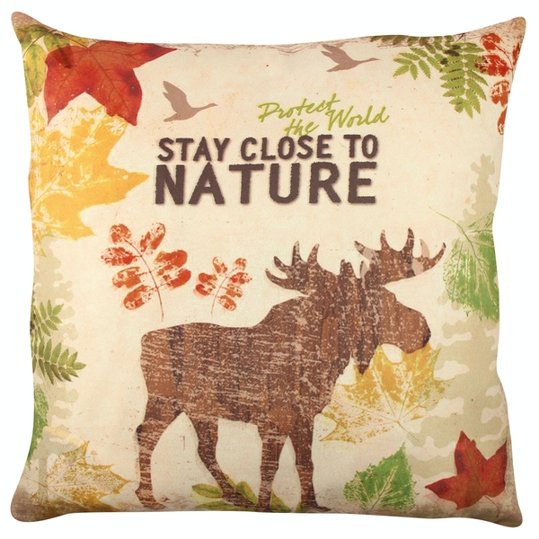 A11844 Multicolor Cushion Stay Close To Nature