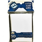 Fantasy Flight Supply 50 White Sleeves Standard - 10 Packs